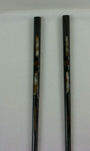 Mother of pearl inlaid wooden chopsticks VINTAGE