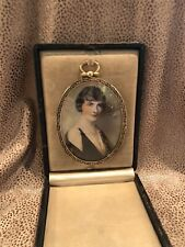 1920s Travel Frame in Case with Vintage Photo