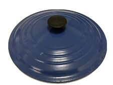 Replacement LID LE CREUSET 28 CAST IRON ROUND DUTCH OVEN, BLUE France