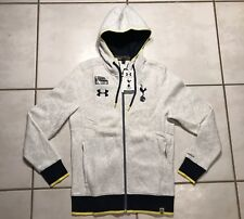 NWT UNDER ARMOUR STORM Tottenham Hotspur Full Zip Hoodie Jacket Men's Small