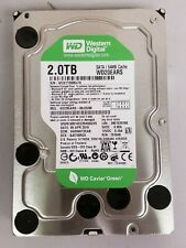 "WD Caviar Green 2TB 3.5"" 5400 RPM Hard Drive WD20EARS 100% Health/Performance"