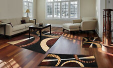 Modern Home Mat Floor Rugs 3 Piece Living Room Carpet Set Décor Runner Bedroom