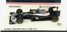 Minichamps Williams FW34 2012 - Bruno Senna 1/43 Scale