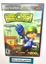 Army Men Soldiers Of Misfortune PlayStation 2 PS2 Complete Works Great Ship Fast