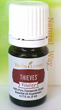 Young Living THIEVES VITALITY 5ml Essential Oil:Clove,Peppermint,Rosemary,Lemon
