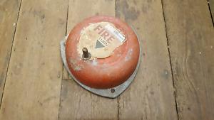 Large Vintage Fire Bell / Alarm GWO 36629