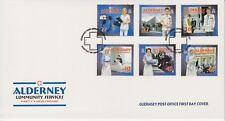 Alderney First Day Cover FDC 2001 Community Services Part 1 Healthcare