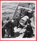 1942 HMCS Canadian Fairmiles Subchasers Depth Charge Rack Original News Photo
