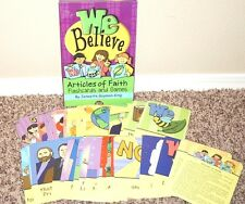 We Believe Articles of Faith Card Game Great for Family Night LDS Mormon By King