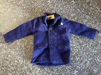 VINTAGE PAUL EMPIRE MADE ACTION MAN BLUE JACKET VERY GOOD CONDITION FOR AGE