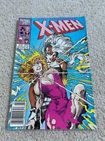 Uncanny X-men  214   VF  8.0  High Grade   Wolverine  Cyclops  Storm  Rogue