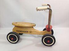 Vintage Children's 1970s Radio Flyer 4-Wheel Scooter Bike - Made In USA
