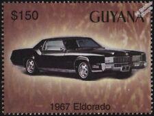 1967 CADILLAC Eldorado Comme neuf automobile voiture TIMBRE (2003 Guyana)