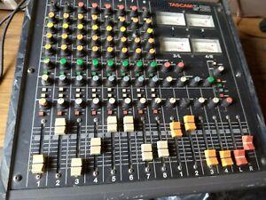 Vintage Tascam M-208 8-Channel Analog Mixer