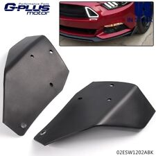 For Ford Mustang 2015-2017 ABS GT350 Style Front Chin Spoiler Winglets Guard