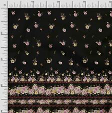 Soimoi Fabric Peony & Ranunculus Panel Printed Fabric 1 Yard - PN-133A