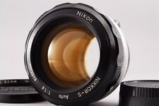 **Exc++++** Nikon Nikkor S Auto 55mm f1.2 Non-Ai MF Lens from Japan