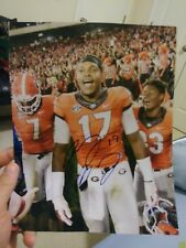 Davin Bellamy Georgia Bulldogs Signed 8x10 Photo NFL