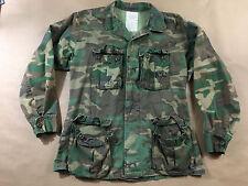 USMC Mens Warm Weather Camo Jacket Size M 4 Pocket Marine Core United States