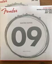 Guitar strings - Fender, Electric, Super 250s 009-042 Set