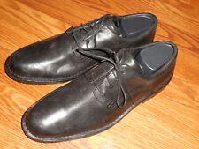 """SEBAGO """"SALEM"""" BLACK LEATHER OXFORDS W/ Vibram sole --Men's Size 10 D"""
