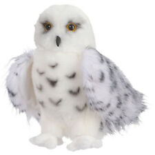 "Douglas Wizard Snowy Owl Plush Stuffed Animal Toy 8"" White Hedwig Child Cuddle"
