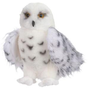"Douglas Wizard Snowy Owl Plush Stuffed Animal Toy 8"" White Hedwig Child Cuddle"