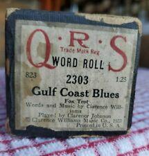 Gulf Coast Blues by Clarence Johnson Hot 88 piano roll