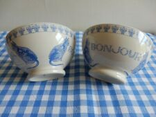 Two 'Paris je t'aime' French bowls from Jars France