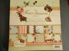The Four Seasons Stack - 48 Sheets Of 12x12 Printed Cardstock