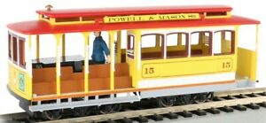 Bachmann 60538 HO Yellow & Red Cable Car with Grip Man