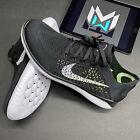 Nike Free RN Flyknit 2018 Black White Running Shoes Size 10.5 (942838-001)