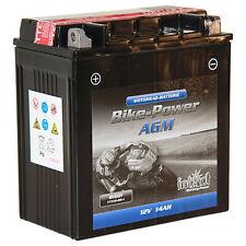 Intact Bike-Power AGM 81601 PREMIUM Motorradbatterie 12V/14Ah YTX16-BS-1 *NEU*