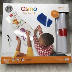 Osmo Creative Kit Monster Interactive Game Base for iPad Newton Masterpiece NEW