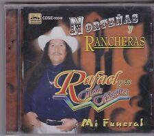 Mi funeral/ Rafael y su Onda chicana Nortenas y Rancheras CD new nuevo Sealed