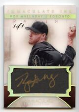 ROY HALLADAY 2014 IMMACULATE TRUE 1/1 AUTOGRAPH