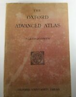 Bartholomew, John THE OXFORD ADVANCED ATLAS 7th Edition 1942