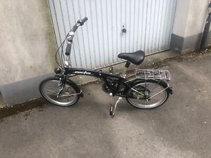 """Minifahrrad Klapprad Faltrad Curtis 20"""" Zoll Deutsches Produkt aus Sangerh."""