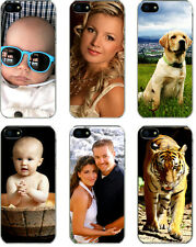 Personalized Photo iPhone 5 / 5s Custom Picture Sticker on Slim Hard Case Cover