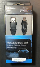DreamGear LED 10ft Charge Cable for PS4 Controller NEW