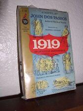 1919 by John Dos Passos (Cardinal #C-131,1'st Print.February,1954, Paperback)