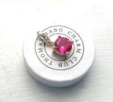 Thomas Sabo Charm Geburtsstein/Monatsstein Oktober Pink/Rosa 925 Silber