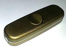 Schnur-Zwischenschalter 1pol. AUS 3(2) A, 250 V~ gold/gold