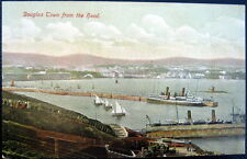Uk~Scotland ~ 1900's Douglas Town (Douglastown) from the Head ~ Old Ships