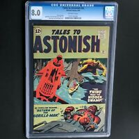 TALES TO ASTONISH #30 (1962) 💥 CGC 8.0 💥 ONLY 10 HIGHER Gorilla-Man Jack Kirby