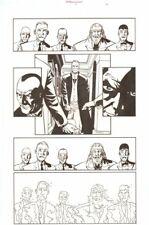 Establishment #9 p.10 - Villains - 'Walking Dead' Artist - art by Charlie Adlard Comic Art