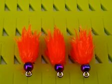 NEW T15 JELLY INTENSE PEACH 🌈 BLOBS  TROUT FLIES/FLY FISHING*