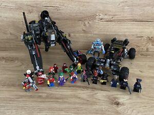 Lego Batman Movie Sets Scuttler & Batmobile 70908 70905 Plus 20 Figures Bundle