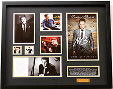 New Michael Buble Signed Limited Edition Memorabilia