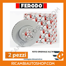 2 DISCHI FRENO ANTERIORI FERODO FIAT PANDA VAN (169) 1.3 MJT 4X4 KW:55 2006> DDF